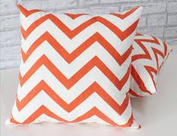 chevron blood orange chevron 2 sided cushion cover u2013 ozurban
