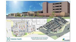 emergency room floor plan kaleida health readies degraff memorial hospital expansion