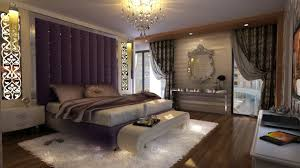 luxury bedroom designs luxury bedroom design white table lamp on black round rack