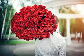 big bouquet of roses with big bouquet of roses outdoor stock image image of