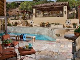 traditional outdoor patio design with cushions paradise htrm patio ideas hgtv