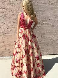floral prom dresses dreamdressy com