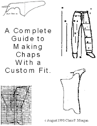 free sewing chaps patterns chapter one designing your chaps show