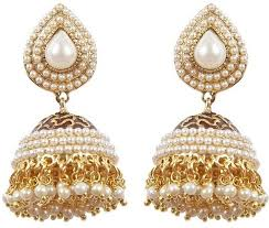 jhumki earring flipkart buy rajwada arts pearl studded traditional jhumki