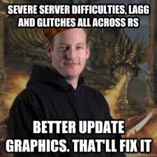 Funny Server Memes - scumbag runescape memes quickmeme