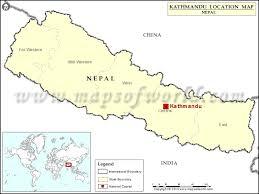where is on the map where is kathmandu location of kathmandu in nepal map