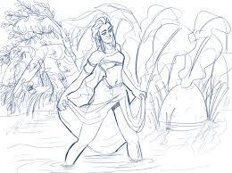 otakon j13 u2022 a quick sketch of my character walking through