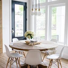 Dining Room Amazing Top  Best Pedestal Table Ideas On Pinterest - Brilliant white and black dining table property