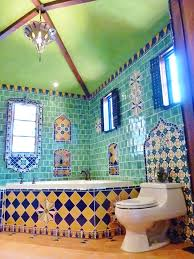 mexican tile bathroom ideas awesome mexican tile bathroom ideas for interior designing home