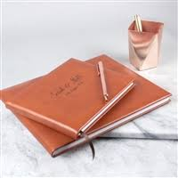 Leather Guest Book Wedding Guest Books