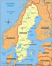 map of sweden sweden cities map sweden map with cities northern europe europe