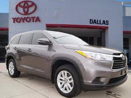 used toyota highlander for sale in dallas tx edmunds