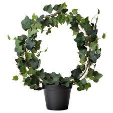 home decor artificial plants artificial plants flowers plant pots stands ikea fejka potted ivy
