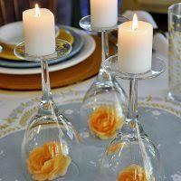diy centerpiece ideas wine glass wedding centerpiece easy wedding diy