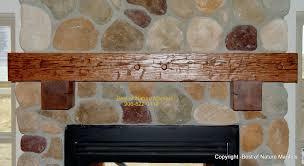 fireplace wood mantel shelf designs rustic cedar mantle custom