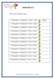 printables ones tens hundreds worksheets ronleyba worksheets