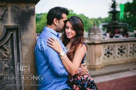 indian wedding photography nyc manisha ali central park bridge new york city