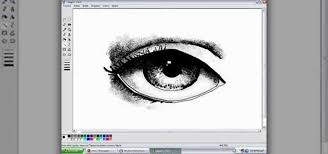 how to draw eyes in ms paint software tips wonderhowto