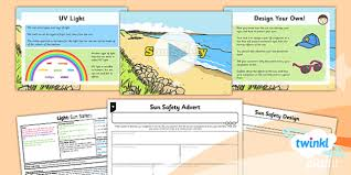 light sun safety year 3 lesson pack 4