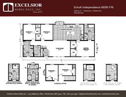 schult independence 6028 376 excelsior homes west inc manufactured