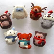 shop felt ornaments on wanelo