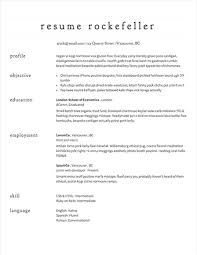easy resume template easy resume template sles of simple resumes exles 11 6 basic