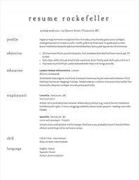 easy resume templates easy resume template 7 free templates primer 8 basic 51 sles