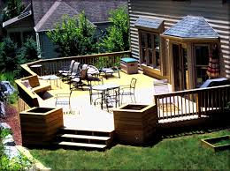 Houzz Backyards Decorating Deck Ideas Home And Tips Loversiq