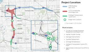 Michigan Traffic Map by Traffic Alert I 275 Prep Work Expected Through Weekend Before