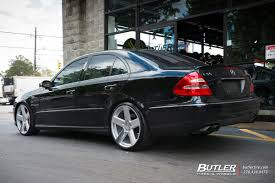 lexus cars bristol mercedes e class with 20in tsw bristol wheels exclusively from