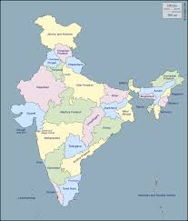 Indian Map Geography Blog Maps Of India States And Capitals Of India
