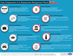 Driving Background Check Components Of A Background Check Visual Ly
