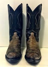 womens black cowboy boots size 9 womens boots distressed black and stitched tony lama cowboy