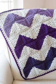 free pattern granny square afghan granny squares chevron afghan crochet pattern chevron afghan