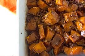 candied yams recipe brown sugar