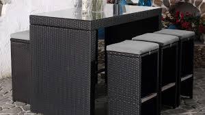 table de jardin haut de gamme best table haute et tabouret de jardin images amazing house