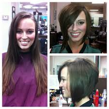 hairstyle makeovers before and after 9 best hair transformations images on pinterest hair ideas