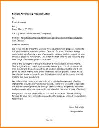 example business letterproduct proposal letter free download
