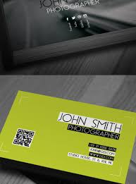 cards excellent photography business templates psd download free