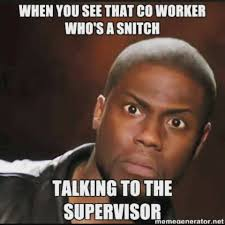 Funny Ass Memes - we all have that coworker even making up things to make them look