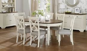 dining room oval pedestal dining table wood with 6 wooden dining
