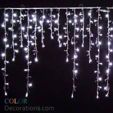 led icicle lights indoor outdoor decorations