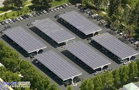 solar panel parking lot lights solar carports commercial solar carport design installation