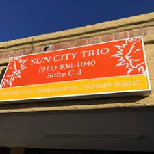 sun city income tax service tax services 4700 n mesa el paso