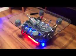 How To Make An Engine Block Coffee Table - v8 engine coffee table youtube