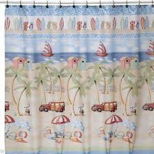 Surfer Shower Curtain Saturday Knight Ltd Beach Island U0026 Ocean Shower Curtains Ebay