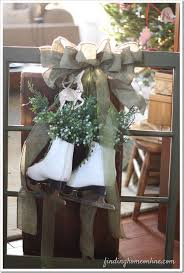 Christmas Window Decorations Vintage by Vintage Christmas Sleds Finding Home Farms