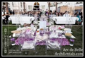 Wedding Arches Rental In Orlando Fl Acrylic Wedding Chuppah Altar Lucite Chuppa Rentals Los Angeles