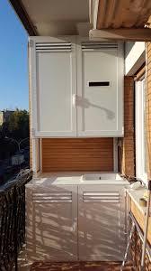 armadio da esterno in alluminio copricaldaia da esterno in alluminio su misura alfa