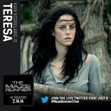 the maze runner film the maze runner movie character photos reveal newt minho teresa